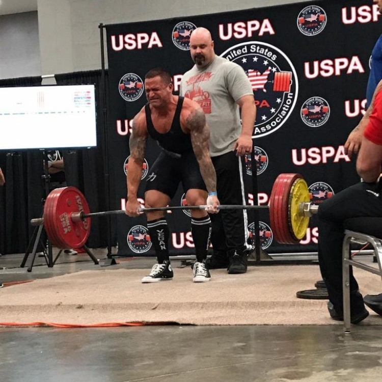Paul Salomone vegan powerlifter plantbuilt competition