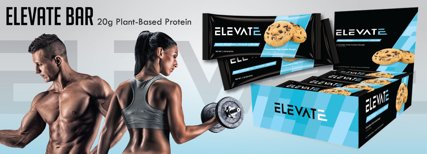 Elevate Vegan Plant Based Protein Bar