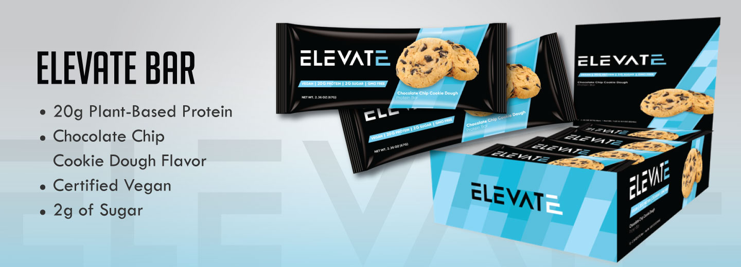 Elevate Vegan Plant Based Protein Bars Benefits