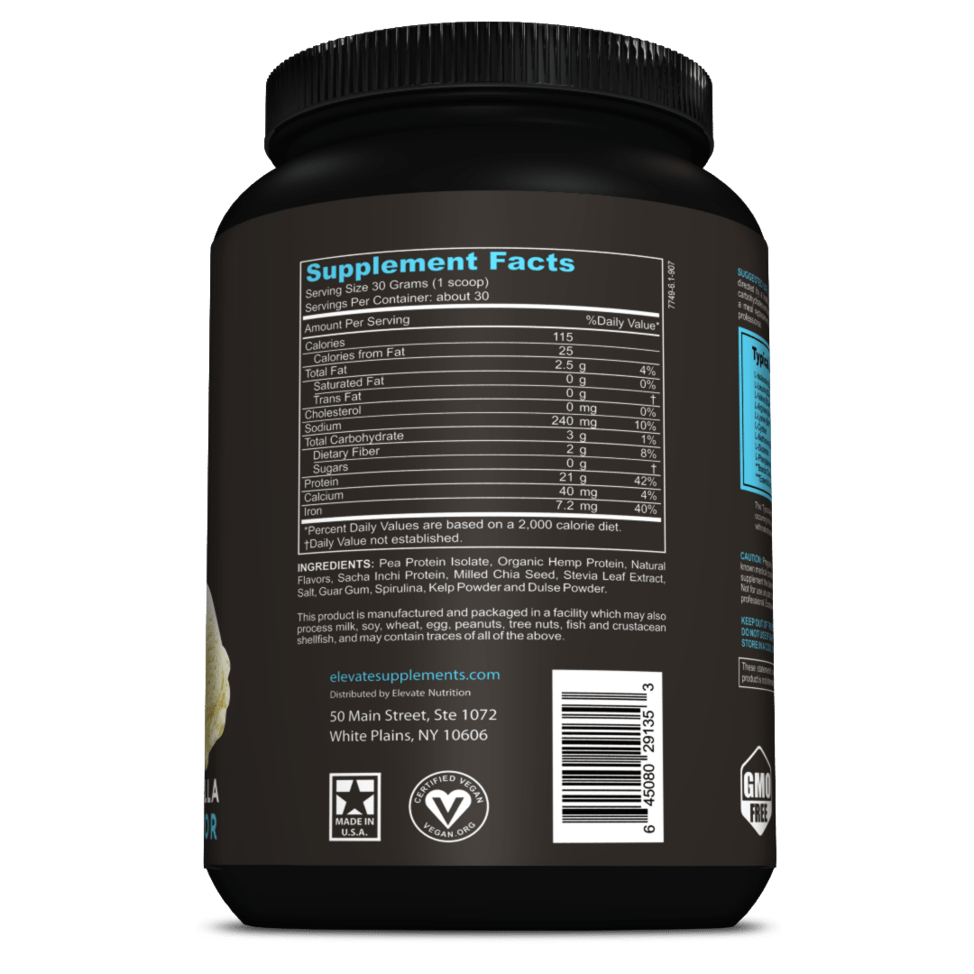 Plant-Based-Vegan-Protein-Powder-nutrition-facts-ingredients