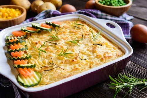 vegan shepard pie for the holidays