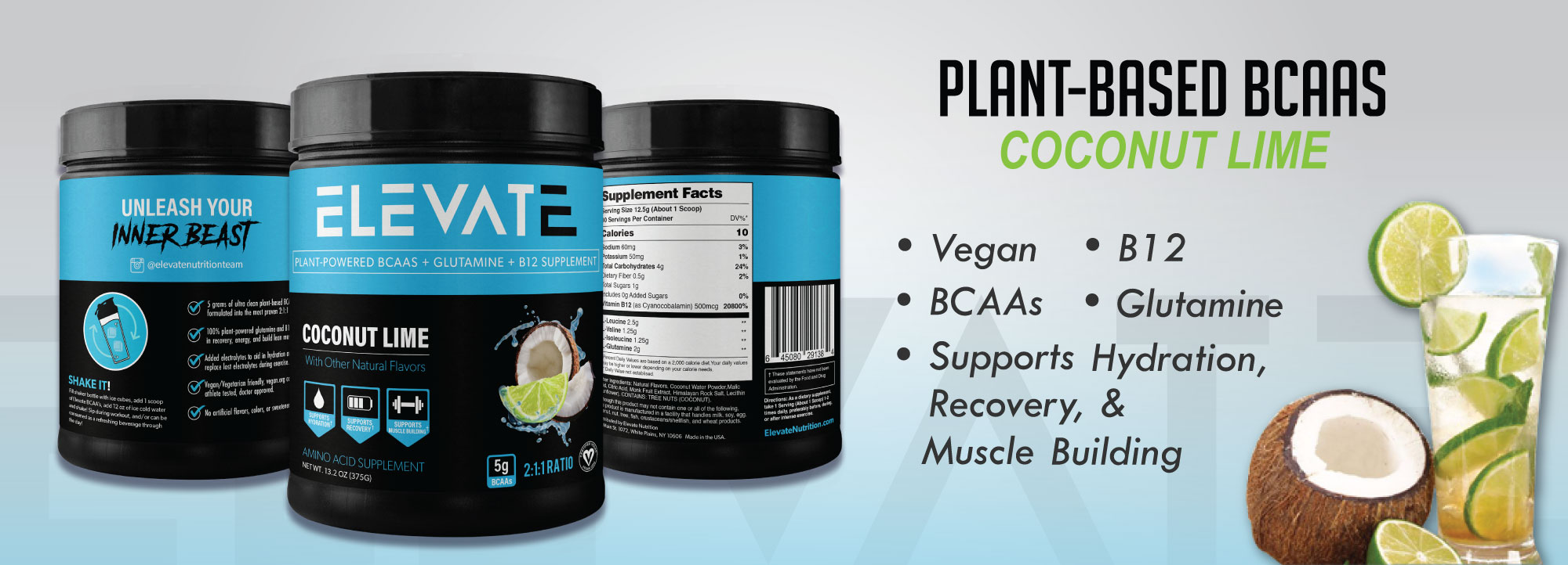 Plant Based Vegan BCAA