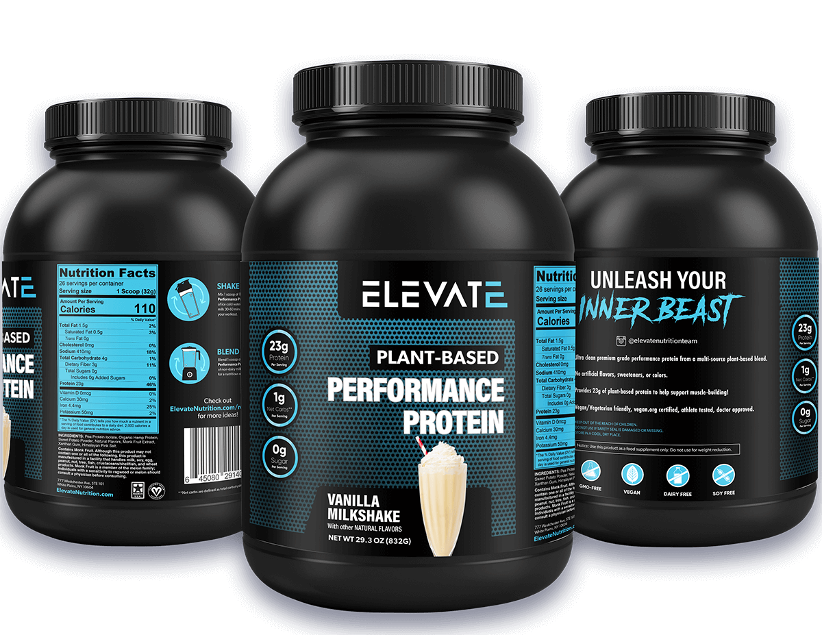 Elevate-Nutrition-Vanilla-plant-based-vegan-performance-protein-powder