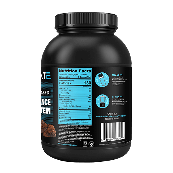 plant-based-vegan-chocolate-brownie-protein-supplement-facts-amino-acid-profile