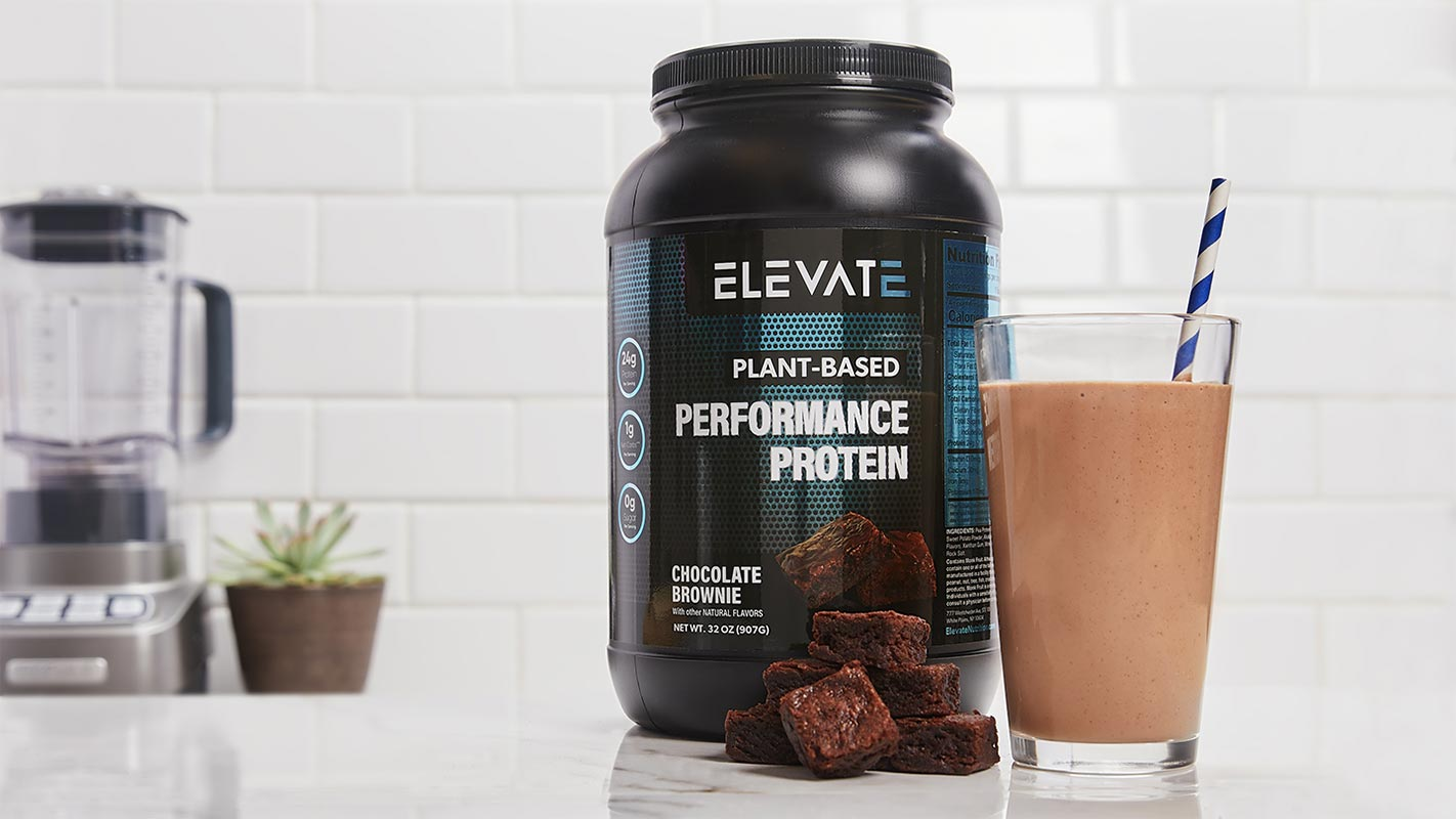Elevate Nutrition Smoothie Real Ingredients